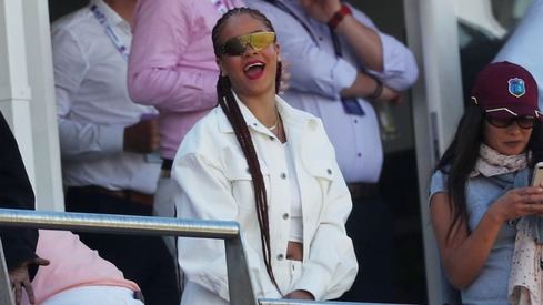 No one has ever enjoyed themselves as much as Rihanna at the World Cup