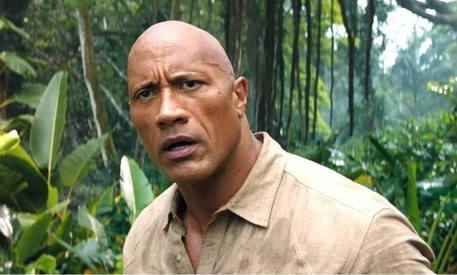 Dwayne Johnson is taking things to the 'next level' in the Jumanji sequel trailer
