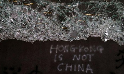 China tells UK to 'refrain' from Hong Kong 'interference'