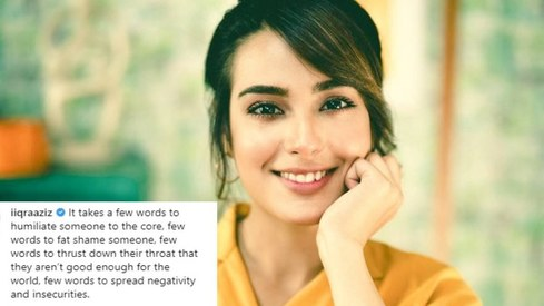 Iqra Aziz opens up about cyberbullying in a candid Instagram post