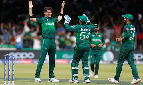 Pakistan take home 94-run consolatory win against Bangladesh after being knocked out of World Cup