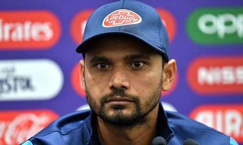 Mashrafe coy over his future as Bangladesh head home