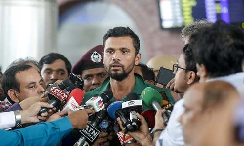 Bangladesh's Mashrafe takes blame for 'disappointing' World Cup