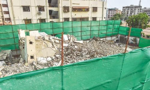 G.M. Sayed's ancestral home in Karachi demolished