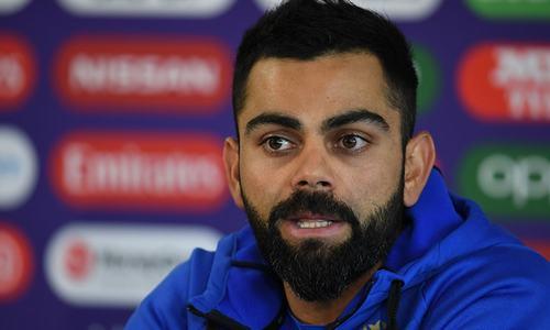 Virat Kohli happy for Sharma to take the spotlight