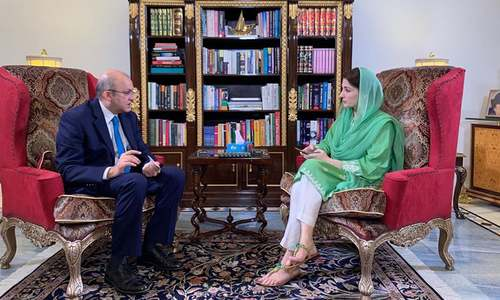 Maryam Nawaz's interview 'stopped forcefully' shortly after being aired: show host