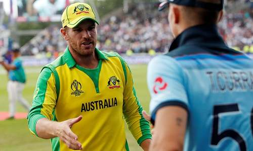 Australia 'outplayed' by England in World Cup semi, says Finch