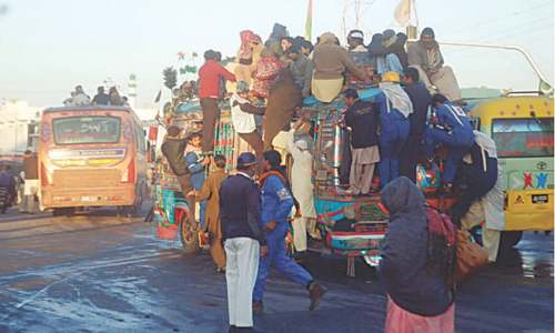 Karachi's sad tale of transport