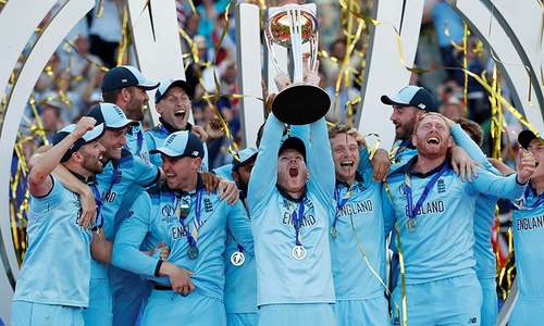 England win their first-ever World Cup after beating New Zealand in nerve-wracking super over