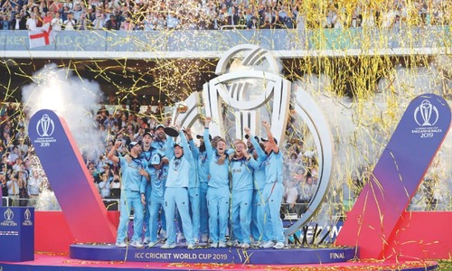 Stokes, luck lift England to World Cup glory after epic final
