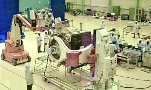بھارت: چاند کا خلائی مشن روانگی سے ایک گھنٹہ قبل منسوخ