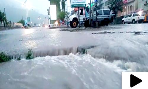 وادی نیلم میں سیلابی ریلا 22 افراد کو بہا لے گیا