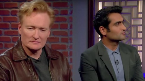 Conan O' Brien had to interview his assistant after Kumail Nanjiani ditched last minute
