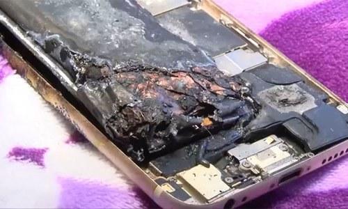 آئی فون 6 دھماکے سے پھٹنے سے 11 سالہ بچی زخمی