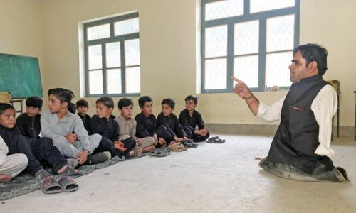 Parachinar teacher an example of determination