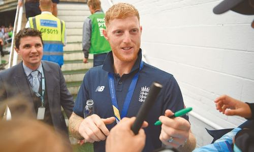 Stokes revels in personal tale of redemption