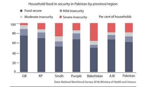 پاکستان میں 18.3 فیصد خاندان کو سنگین غذائی قلت کا سامنا، اسٹیٹ بینک