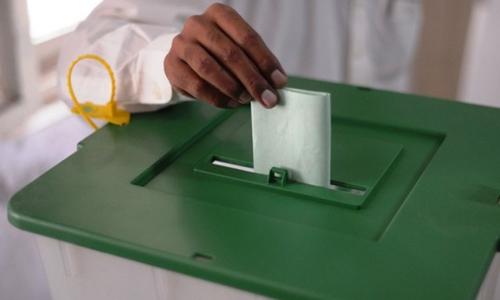 خیبر پختونخوا: انتخابات کے دوران 4700 پولیس اہلکار تعینات کیے جائیں گے