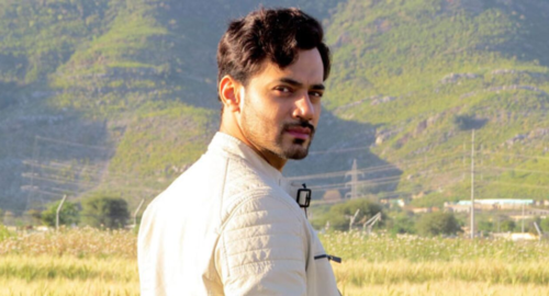 Zahid Ahmed is playing an ex-air force pilot smitten by Sanam Jung in Main Na Janoo