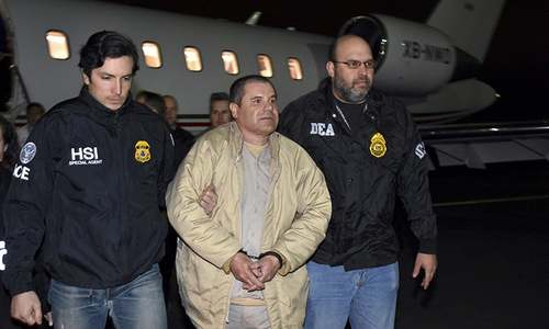 Drug kingpin El Chapo sentenced to life in US prison