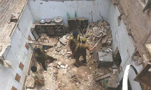 Seven of a family killed in roof collapse in Sheikhupura