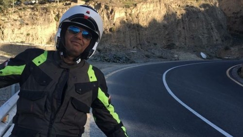 Ali Azmat will bike across Europe for 22 days