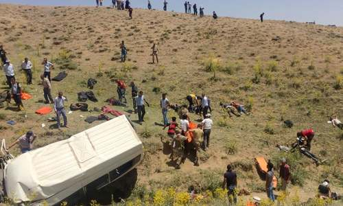 Pakistanis among those feared dead in Turkey accident