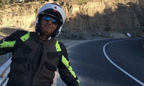 علی عظمت کا بائیک پر 22 روز میں یورپ گھومنے کا اعلان