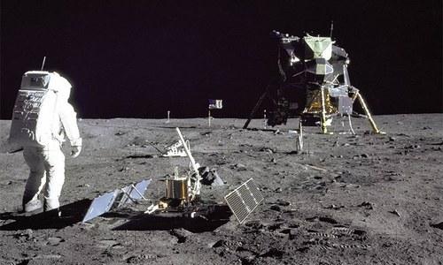 چاند پر انسان کے جانے کو نصف صدی مکمل