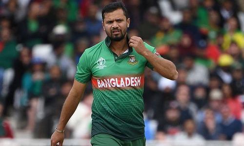 بنگلہ دیشی کپتان انجری کے سبب دورہ سری لنکا سے باہر