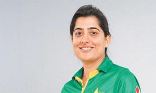 PCB congratulates Sana on inclusion in ICC Women's Committee