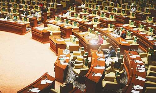 Opposition says PA session being prolonged to provide relief to held PPP lawmakers