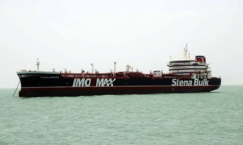 Iran Guards seize British-flagged tanker in Strait of Hormuz