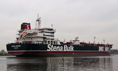 New Delhi asks Iran to free 18 Indians on seized British-flagged tanker