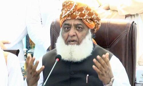ملک میں حقیقت میں اسٹیبلشمنٹ کی حکومت ہے، مولانا فضل الرحمٰن