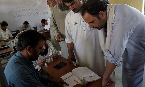 Unofficial results show independents lead in historic KP Assembly polls