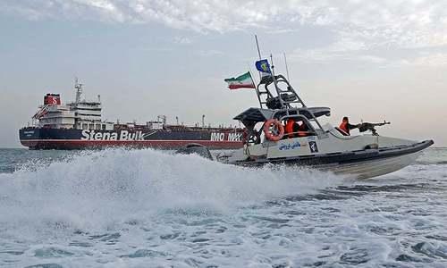 جہاز کو منجمد کرنا ایران کی 'غیر قانونی' مداخلت ہے، برطانیہ