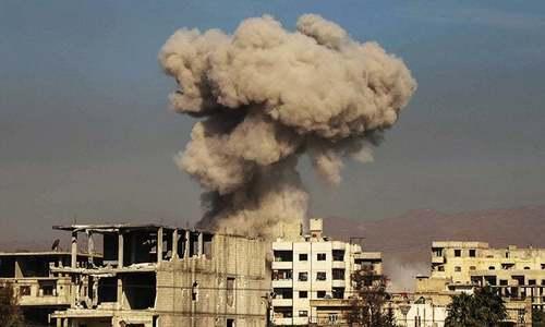 شام: روسی جنگی طیاروں کی بمباری، صحافی سمیت 11 شہر جاں بحق
