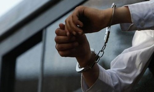 Two Chinese nationals held for 'harassing' woman