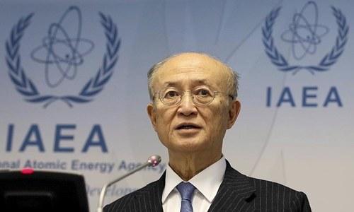 UN nuclear watchdog chief Amano dies aged 72