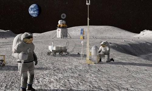 ناسا کا نیا انسانی مشن چاند پر بھیجنے کا اعلان