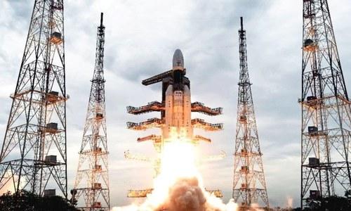 بھارت چاند کی جانب دوسری بار مشن بھیجنے میں کامیاب