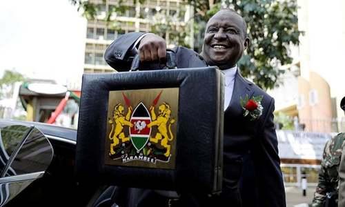 کینیا کے وزیر خزانہ بدعنوانی کے الزام میں گرفتار