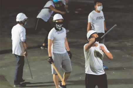 Anger soars over vicious mob attack on HK protesters