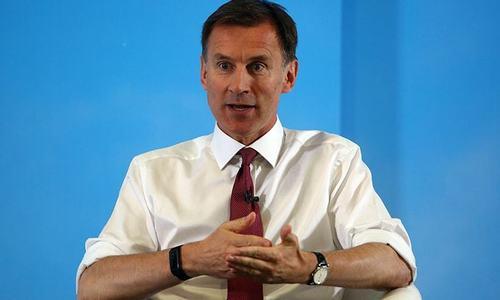Britain plans European-led Gulf force after tanker seizure: Hunt