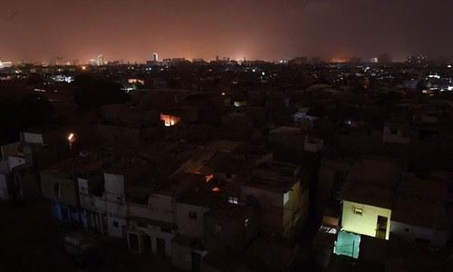 کراچی میں بجلی کا بڑا بریک ڈاؤن، متعدد علاقے متاثر