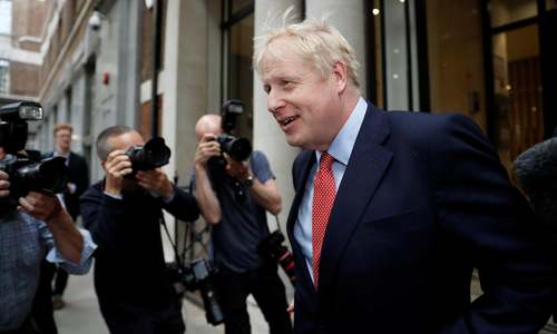 Boris Johnson becomes new UK prime minister
