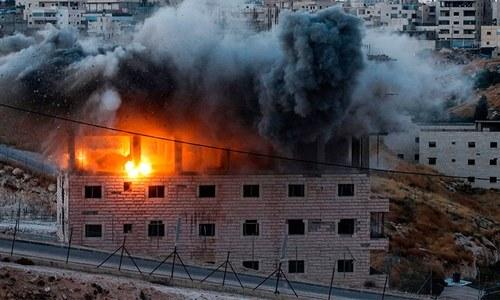 فلسطینیوں کے گھر مسمار: عالمی برادری اسرائیلی جارحیت روکے، سعودی عرب