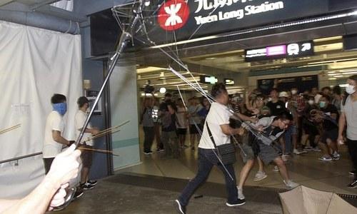 Beijing blames Washington for violence in Hong Kong