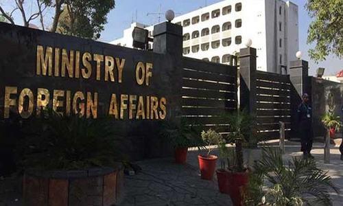 جنگ بندی معاہدے کی خلاف ورزی پر بھارتی ڈپٹی ہائی کمشنر دفتر خارجہ طلب